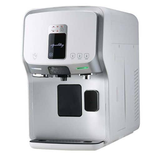Auftisch-Osmoseanlage für gesprudeltes Wasser mit Temperaturauswahl