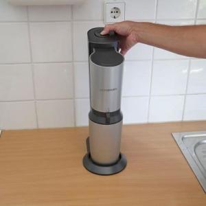 Trinkwasser mit Kohlensäure versetzen