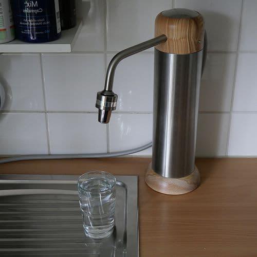 Aquadea Auftischfilter mit Wasserwirbler - Design 2