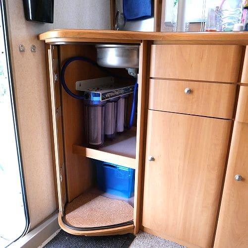 3-Stufen Wasserfilter für Reisemobile oder Boote