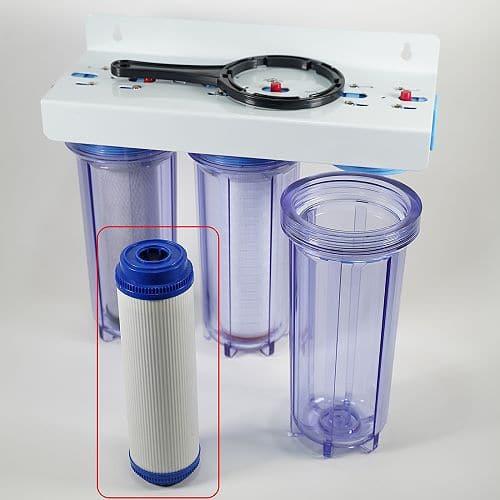 Kalk aus dem Trinkwasser entfernen