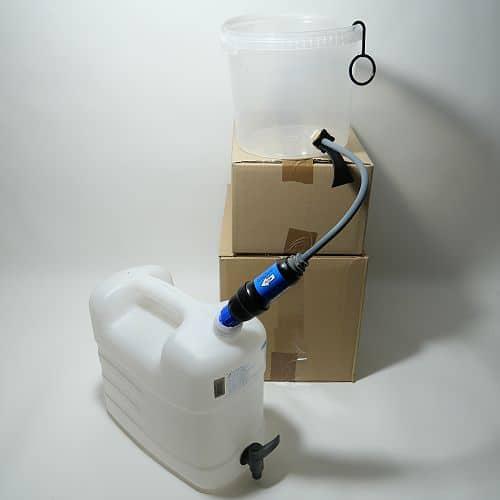 Mit Outdoor-Wasserfilter größere Mengen Wasser filtern