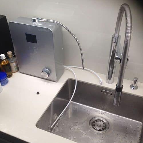 Wasserionisierer mit Kalkschutzfunktion