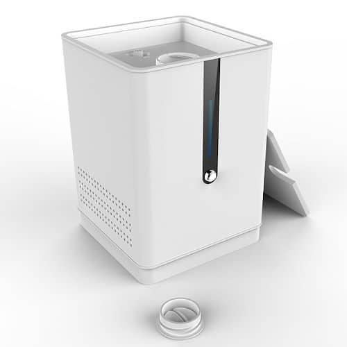 Wasserstoff- und Sauerstoff-Generator mit Inhalation