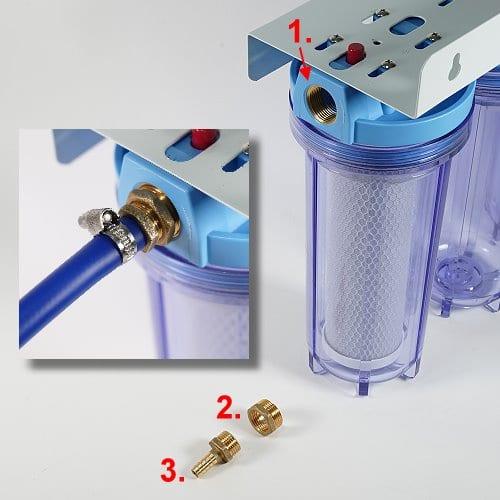 Anschussadapter für Reisemobil-Wasserfilter