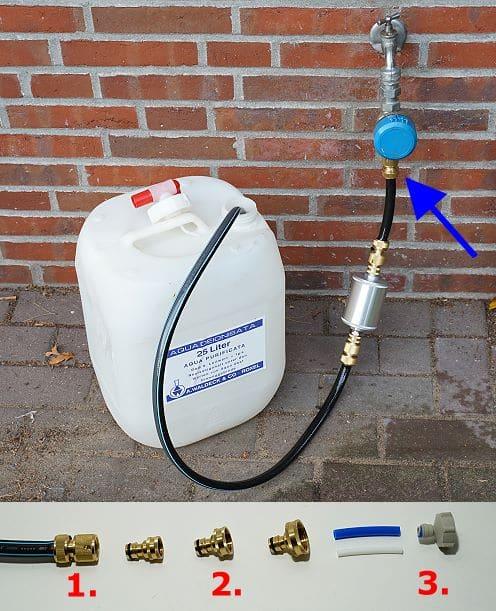 Wasserhahn-Adapter für Außenhähne