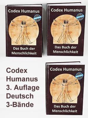 Codex Humanus - neue Auflage mit 3-Bänden