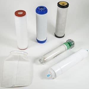 Wasserfilter-Patronen zum Kalk-, Nitrat- und Eisen entfernen