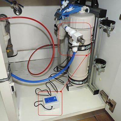 Wasserstopp-System für Osmoseanlage