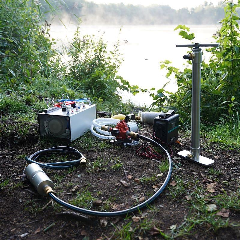 autarkes Wasserfilter-System für Reisemobile und Krisensituationen