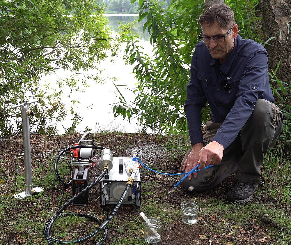 autarke Wasserversorgung aus Gewässer mit Osmose-Modul